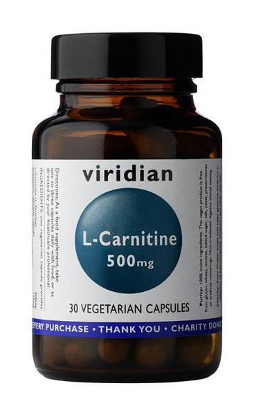 L-Carnitine Amino Acid 500mg Vegan