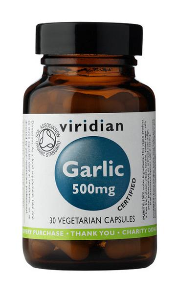 Garlic 500mg Herbal Product ORGANIC