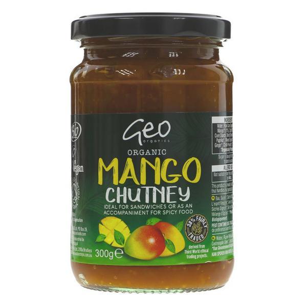 Mango Chutney Organics FairTrade, ORGANIC
