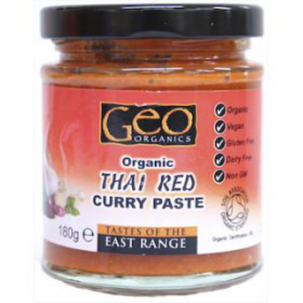 Red Curry Paste Thailand ORGANIC