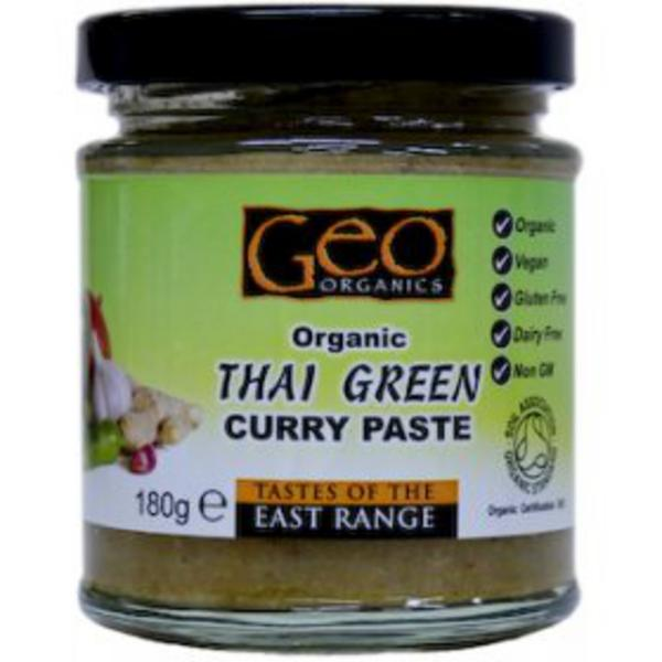 Green Curry Paste Thailand ORGANIC