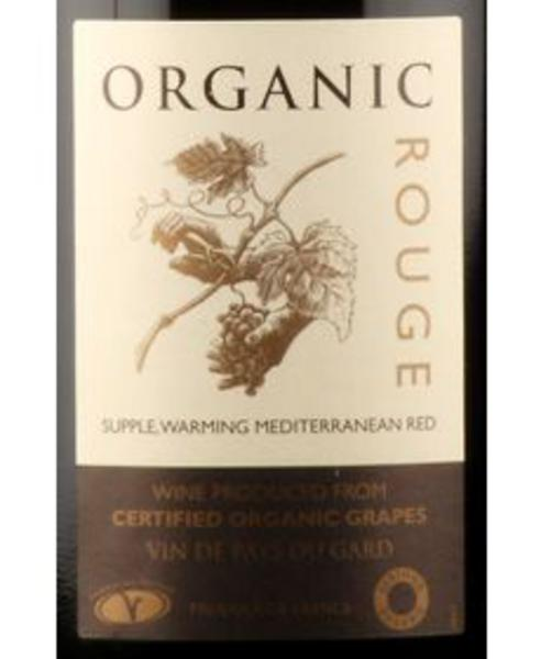 Red Wine Organic Rouge France C 13% Vegan, ORGANIC image 2