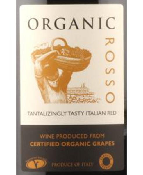 Red Wine Rosso Italy 13% Vegan, ORGANIC image 2
