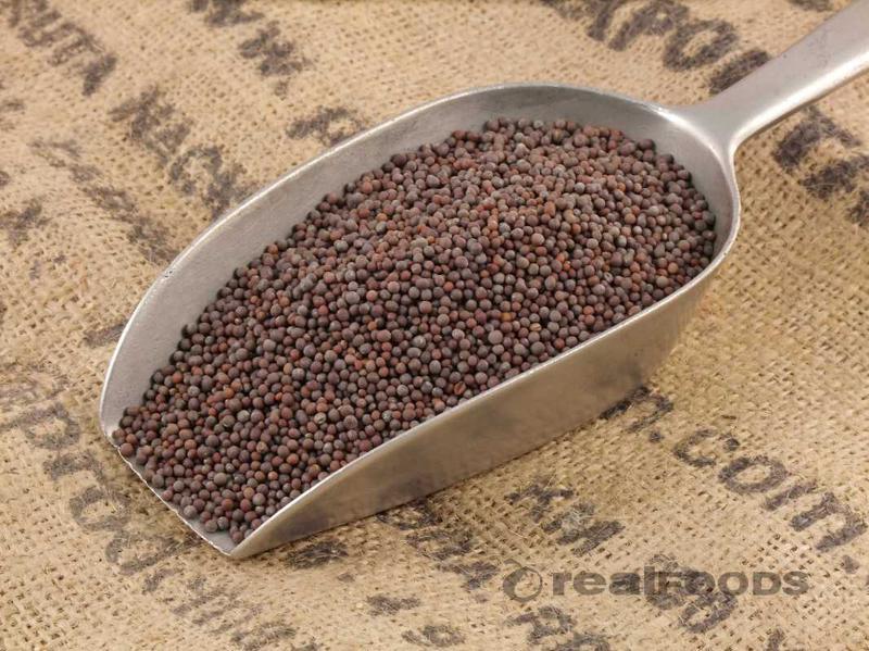 Brown Mustard Seeds ORGANIC