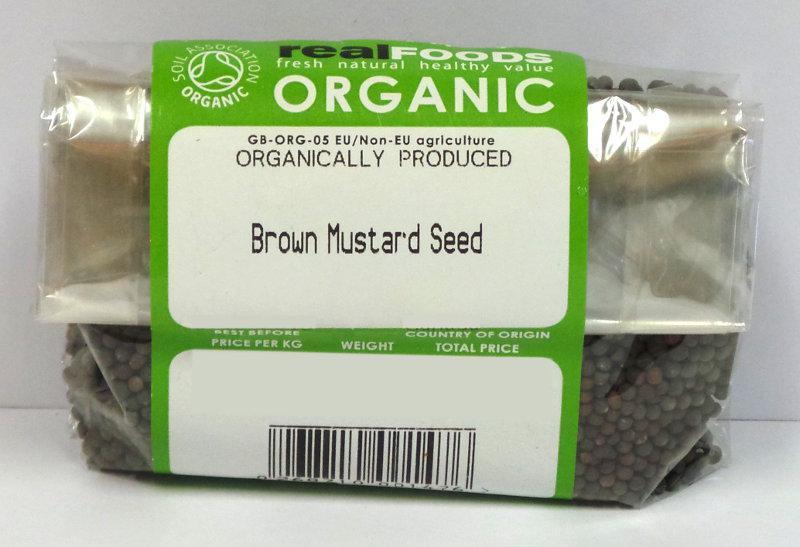 Brown Mustard Seeds ORGANIC image 2