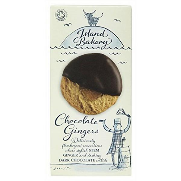 Ginger & Chocolate Biscuits ORGANIC