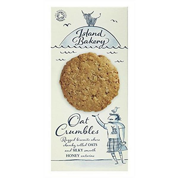 Oat Crumbles Biscuits dairy free, ORGANIC