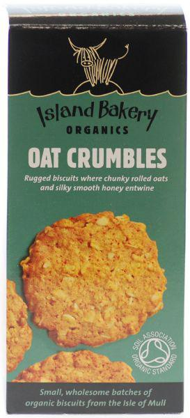 Oat Crumbles Biscuits dairy free, ORGANIC image 2