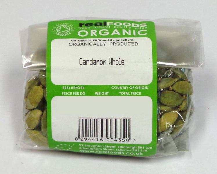 Whole Green Cardamom ORGANIC image 2
