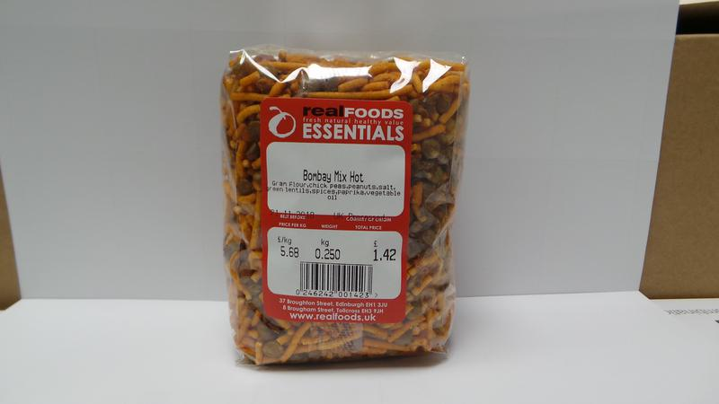 Bombay Mix Hot No Gluten Containing Ingredients image 2