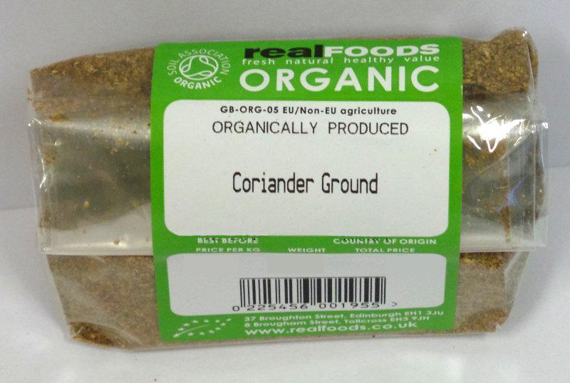 Ground Coriander ORGANIC image 2