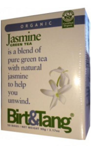 Green T-Bags With Jasmine ORGANIC