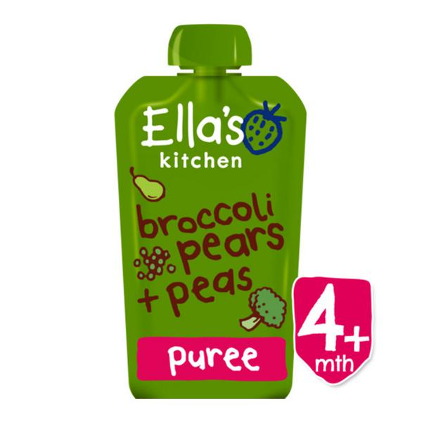 Broccoli,Pear & Pea Baby Food ORGANIC