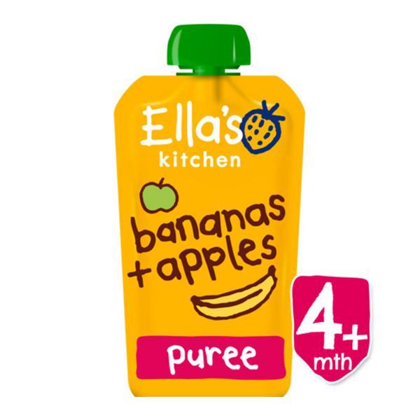 Apple & Banana Baby Food ORGANIC