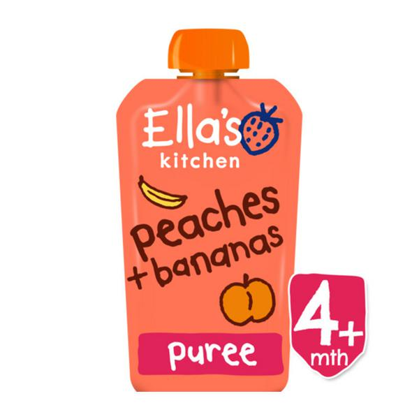 Peach & Banana Baby Food ORGANIC