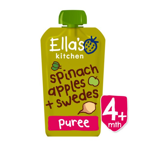 Spinach,Apple & Swede Baby Food ORGANIC