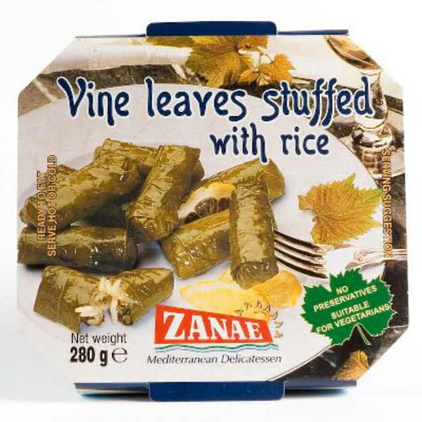 Vine Leaves Stuffed with Rice Vegan