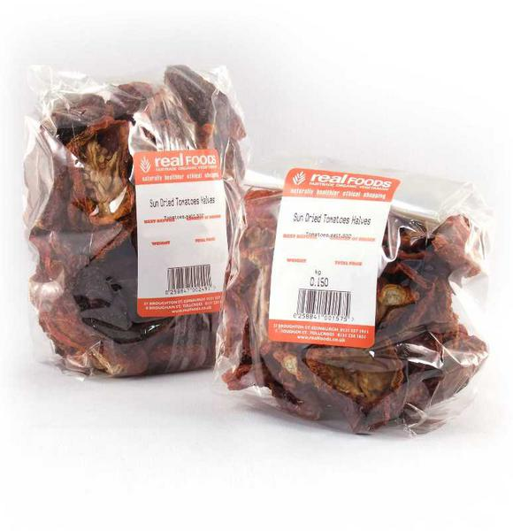 Sun-Dried Tomatoes Halves No Gluten Containing Ingredients, ORGANIC image 2