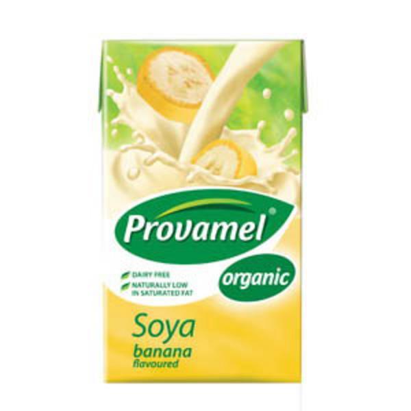 Banana Soya Drink dairy free, ORGANIC image 2