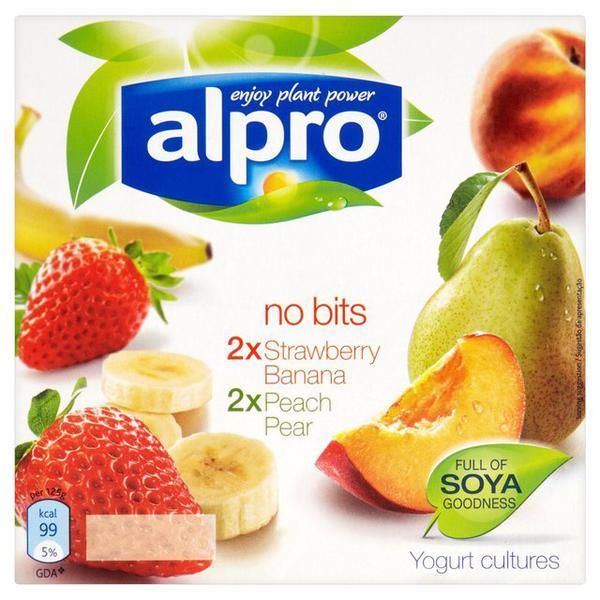 No Bits Fruity Soya Yoghurt ORGANIC