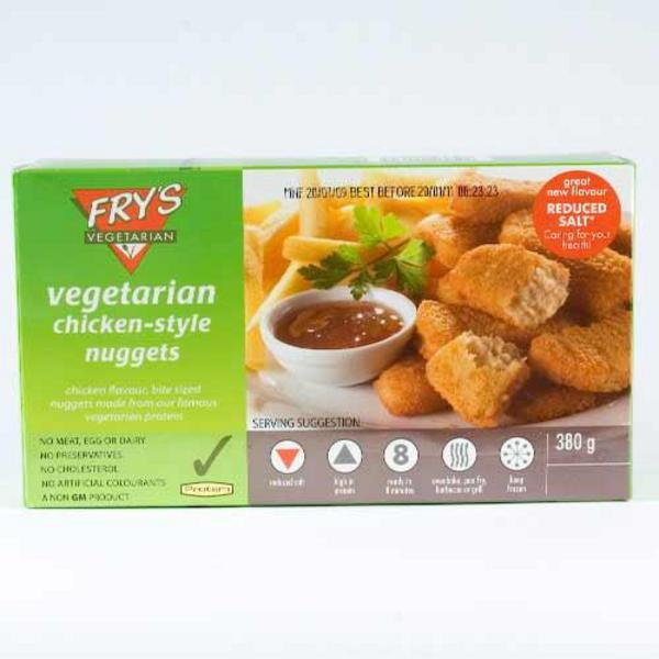 Chicken Style Nuggets Vegan