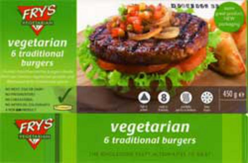 Traditional Vegeburger