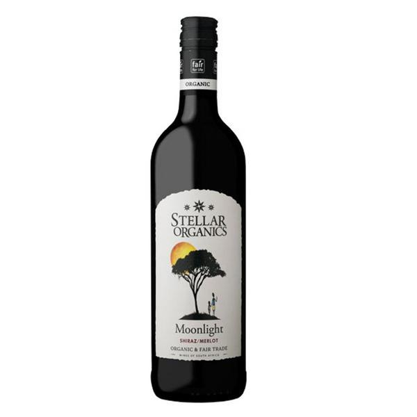 Red Wine Shiraz South Africa Moonlight Organics 14% Vegan, FairTrade, ORGANIC