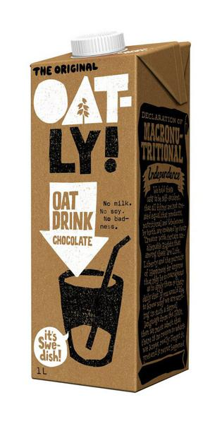 Chocolate Flavoured Oat Drink dairy free, Vegan
