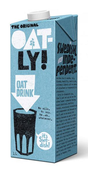 Oat Drink dairy free, no added sugar, Vegan