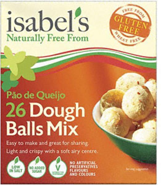 Dough Balls Bake Mix Gluten Free, low salt, no sugar added