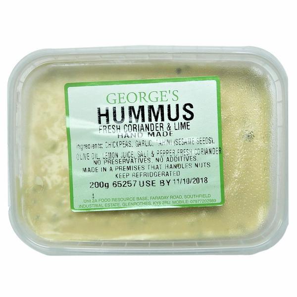 Coriander Hummus Fresh