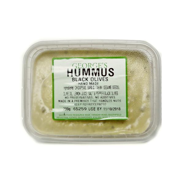 Black Olives Hummus