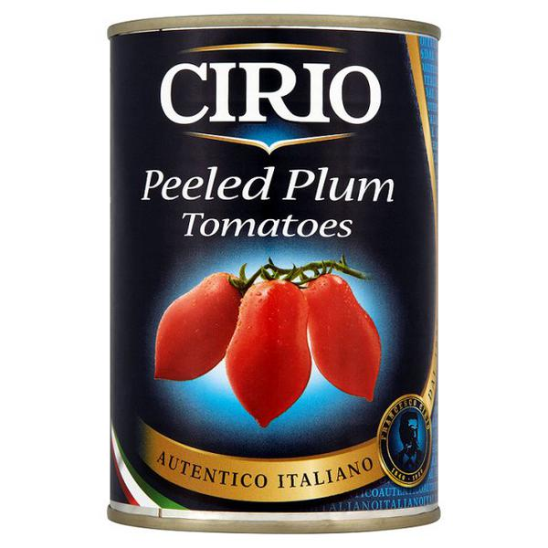 Plum Tomatoes Peeled