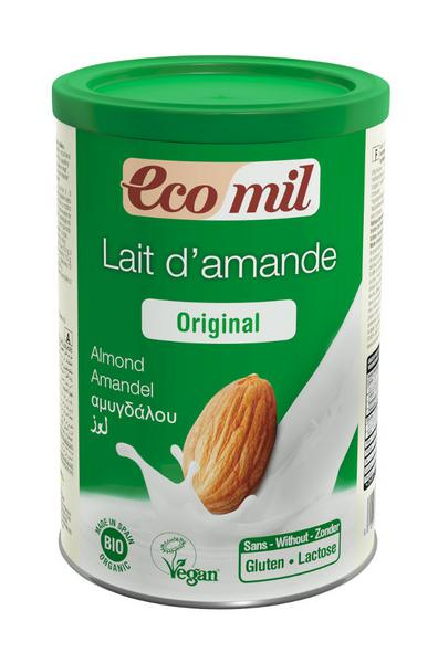 Organic Almond Milk Powder In 400g From Ecomil