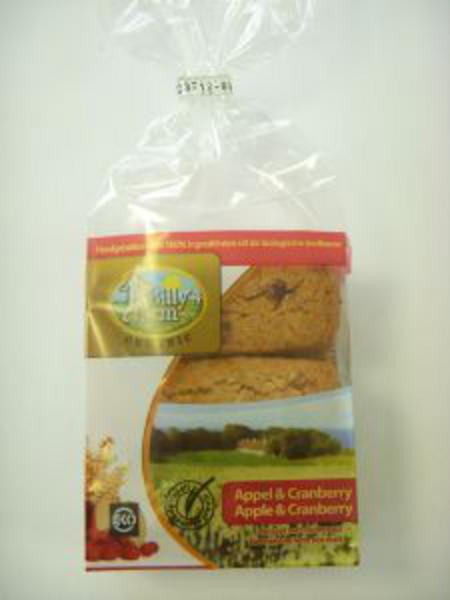 Organic Cranberry And Apple Cookie Spelt In 175g Pack From