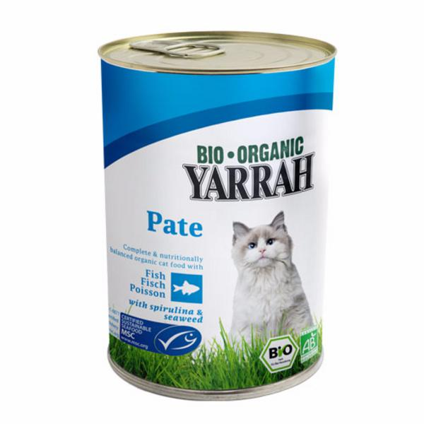 Fish Pate Cat Food With Spirulina Seaweed Organic