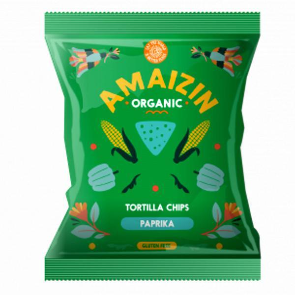 Paprika Tortilla Chips Gluten Free, Vegan, ORGANIC