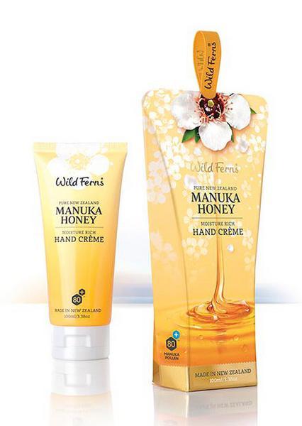 Hand cream with Manuka Honey