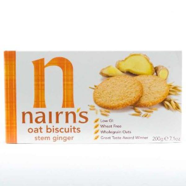 Stem Ginger Biscuits Vegan, wheat free image 2