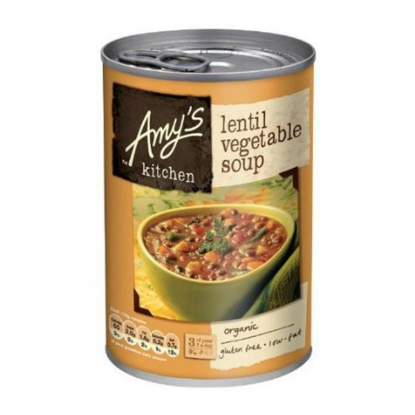 Lentil & Vegetable Soup Gluten Free, Vegan, ORGANIC
