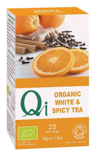 White & Spicy Tea ORGANIC