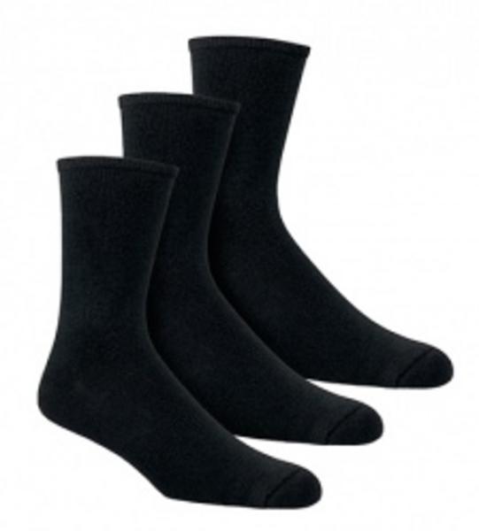 Black Socks 8 - 11 Vegan