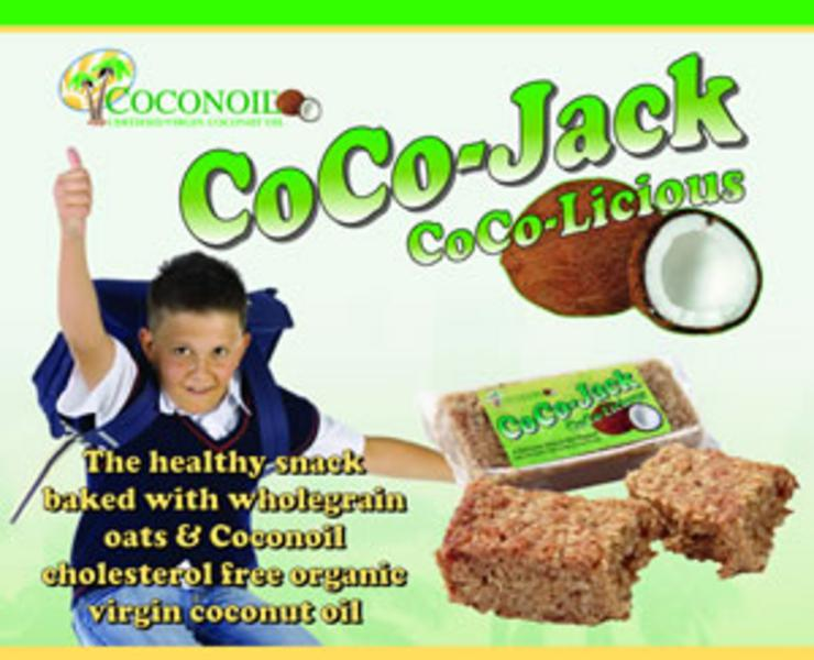 CoCo-Jack Coconut Flapjacks wheat free