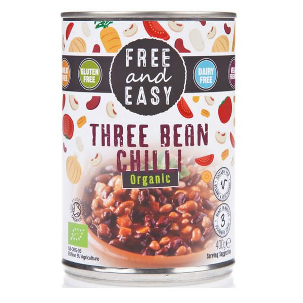 Three Bean Chilli ORGANIC