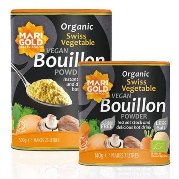 Swiss Vegetable Bouillon Reduced Salt Gluten Free, Vegan, ORGANIC