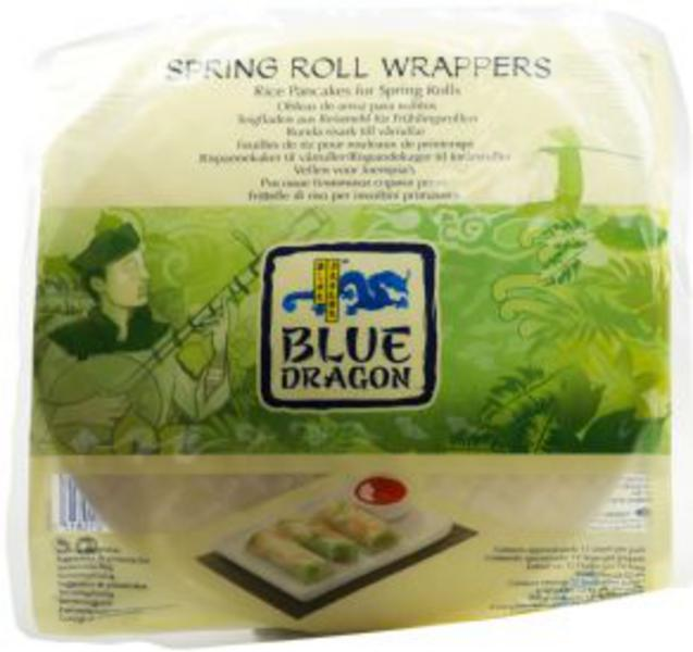 Spring Roll Wrap In 12pack From Blue Dragon