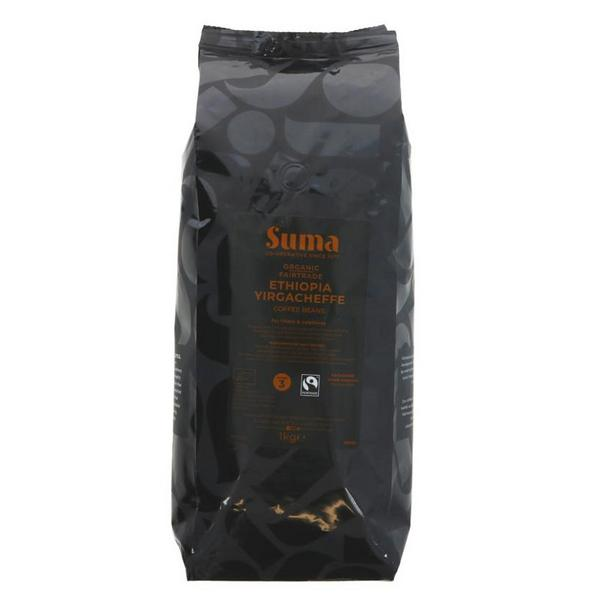 Yirgacheffe Coffee Beans Ethiopia FairTrade, ORGANIC