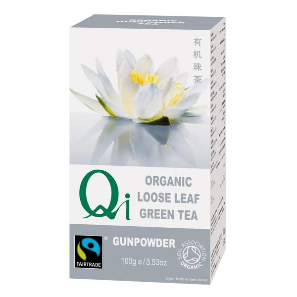 Green Tea Leaves Gunpowder Pearl FairTrade