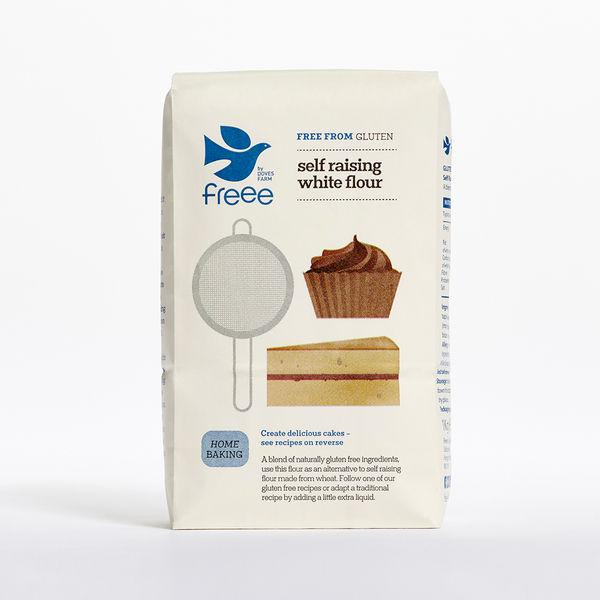 Self Raising Flour White Gluten Free, wheat free
