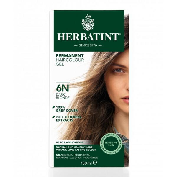 Permanent Hair Colourant Dark Blonde 6N